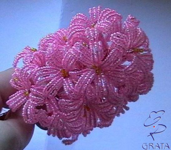 объемные цветы из пайеток для